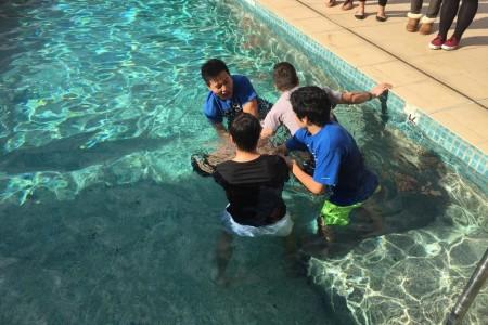 Jeremy is Baptised in Darlinghurst!