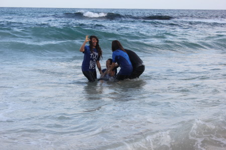 Elizabeth is Baptized!