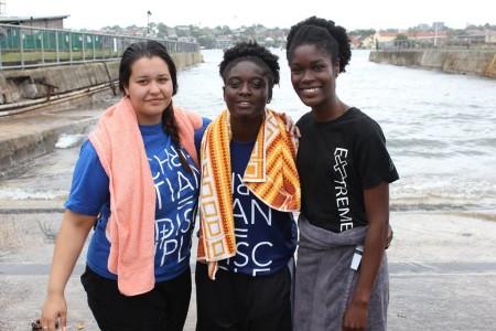 Selina is Baptised!