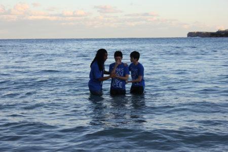 Hank is Baptised!
